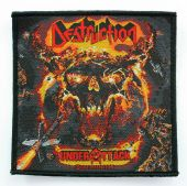 Destruction - 'Under Attack' Woven Patch